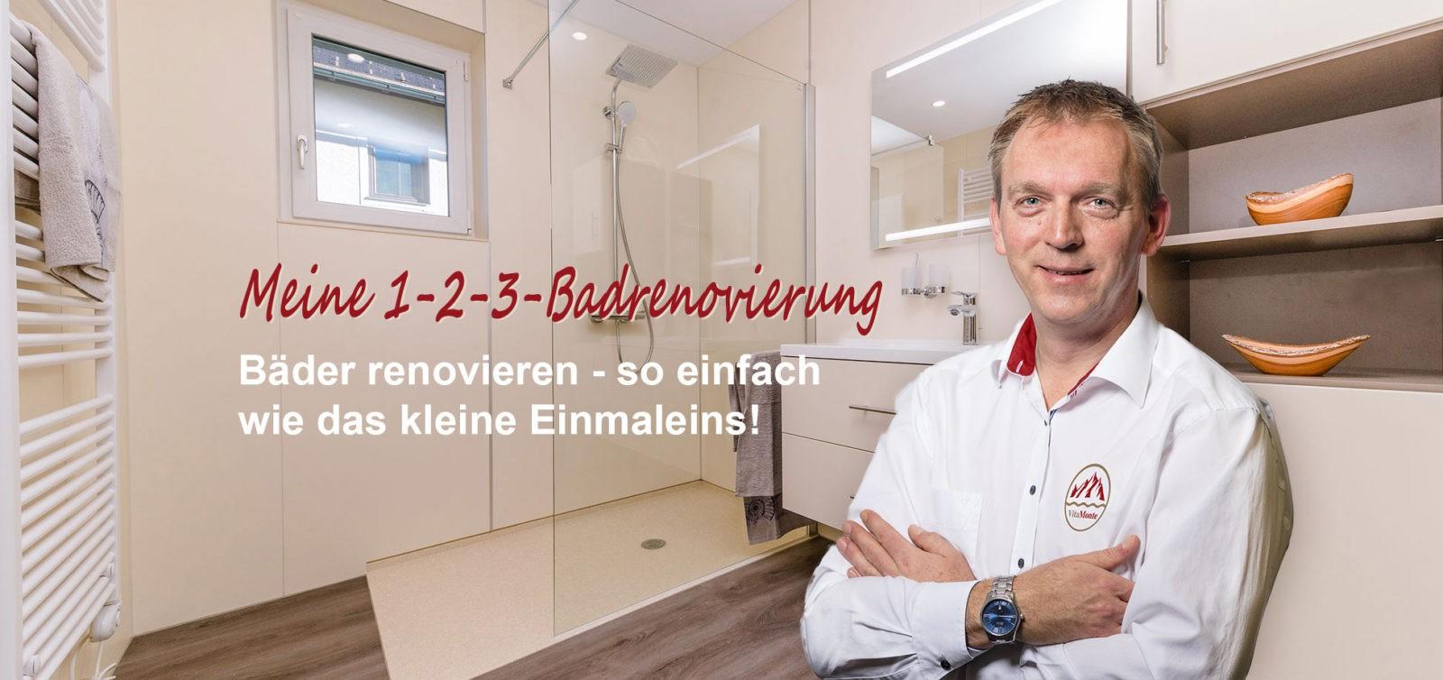 Neues Bad und Firmenchef Jürgen Höchtl
