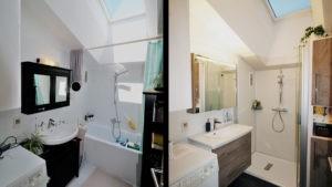 Wanne raus - Dusche rein - vorher-nachher Vergleich