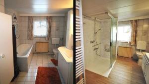 Bad renovieren & Platz sparen