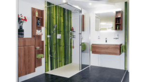 Maßfertigung Dusche mit Badezimmerpaneele