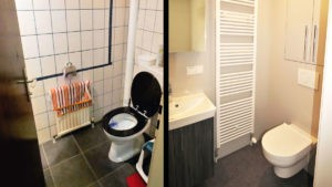 Altes WC ersetzt durch modernes WC von VitaMonte