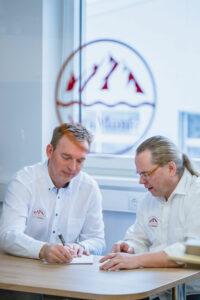Jürgen Höchtl und Harald Mitterlehner